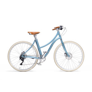 e-bike stella donna azzurro - metallic blue women's e-bike