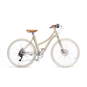 e-bike stella donna champagne - metallic champagne women's e-bike