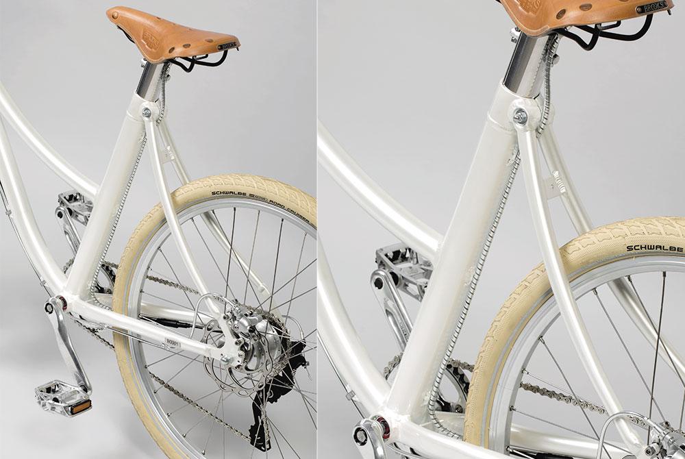 Petrini Cicli bici elettrica batteria a celle ai polimeri di litio