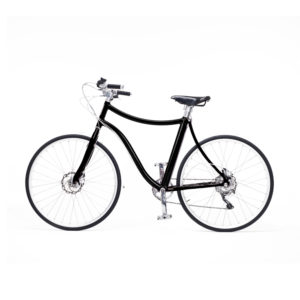 e-bike stella uomo nero metallizzato - metallic black men's e-bike