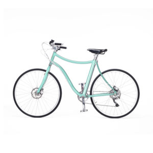 e-bike stella uomo verde perlato - pearly green men's e-bike